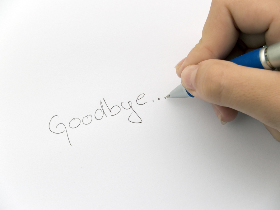 Saying Goodbye, Part One: The Leader Leaving. | Reflections For
